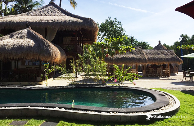 ceningan resort on nusa ceningan island, indonesia