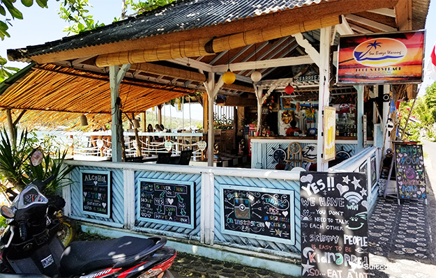Sea Breeze Warung Nusa Ceningan
