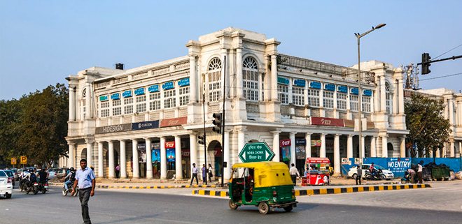 connaught place new delhi india
