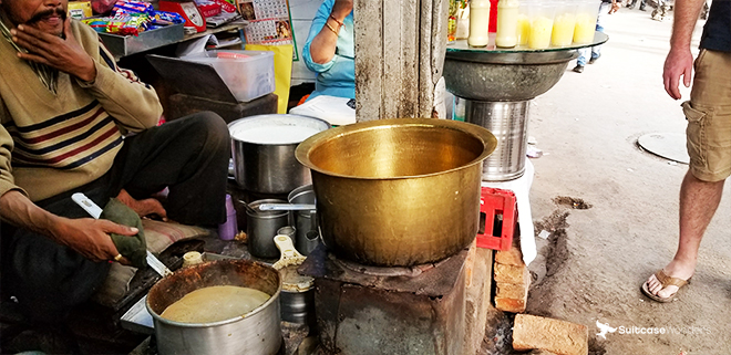 new delhi walking street food tour