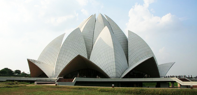 lotus temple south delhi india