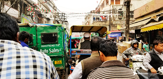 old delhi chandi chowk india