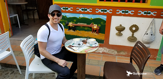 colombian cafe in guatape